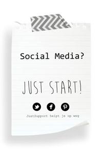 Social Media? JUST start